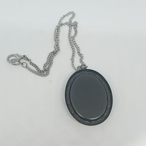 GASOLINE GLAMOUR Jewelry - White grey scorpion necklace oval new